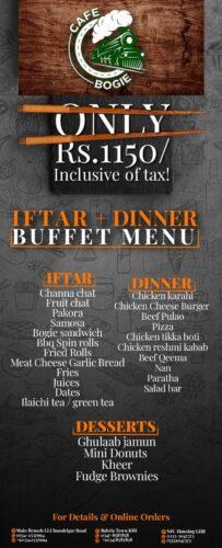 Cafe Bogie Ramadan Buffet