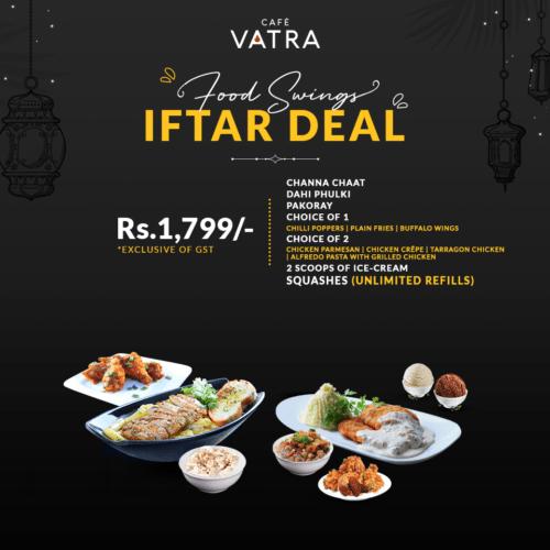 Cafe Vatra Iftar Deals
