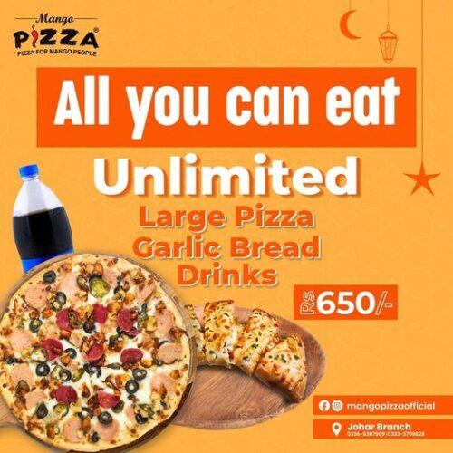 Mango Pizza Iftar Deals