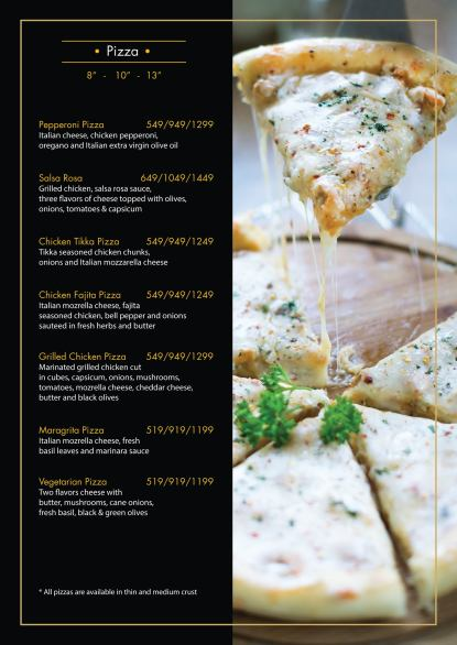 Mindanos Islamabad Pizza