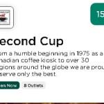 Second Cup HBL Deals