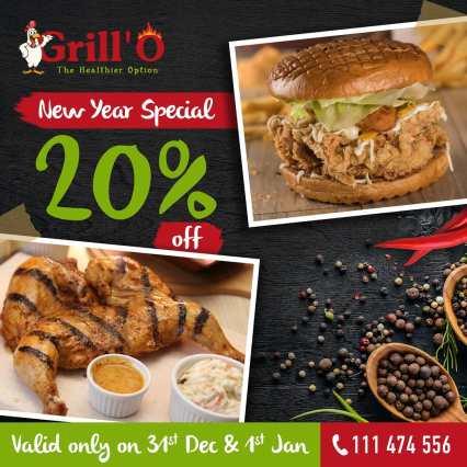 Grillo Karachi New Year Deals