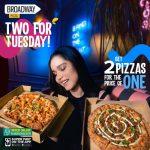 Broadway Pizza Deals Lahore