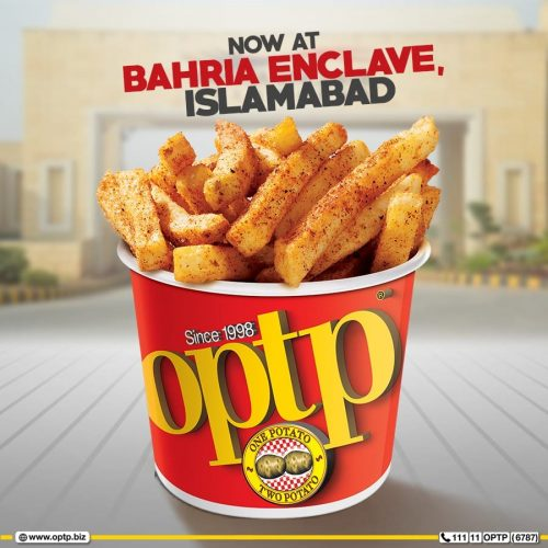 OPTP Bahria Enclave Islamabad