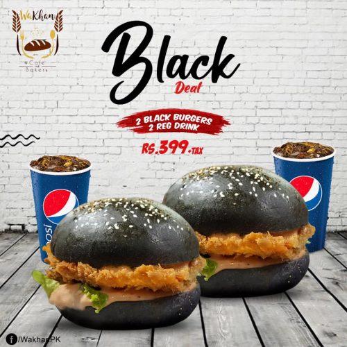 Wakhan Cafe Peshawar Black Deal