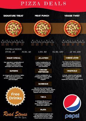 road stove menu