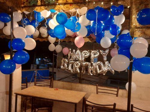 Bannera Rooftop Faisalabad Birthday Decor
