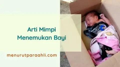 Bermimpi menemukan bayi di dalam kardus