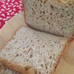 Pão sem glúten e sem lactose com Mix Pan da Schär e farinha de Teff