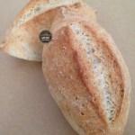 Pão tipo francês sem glúten e sem lactose integral