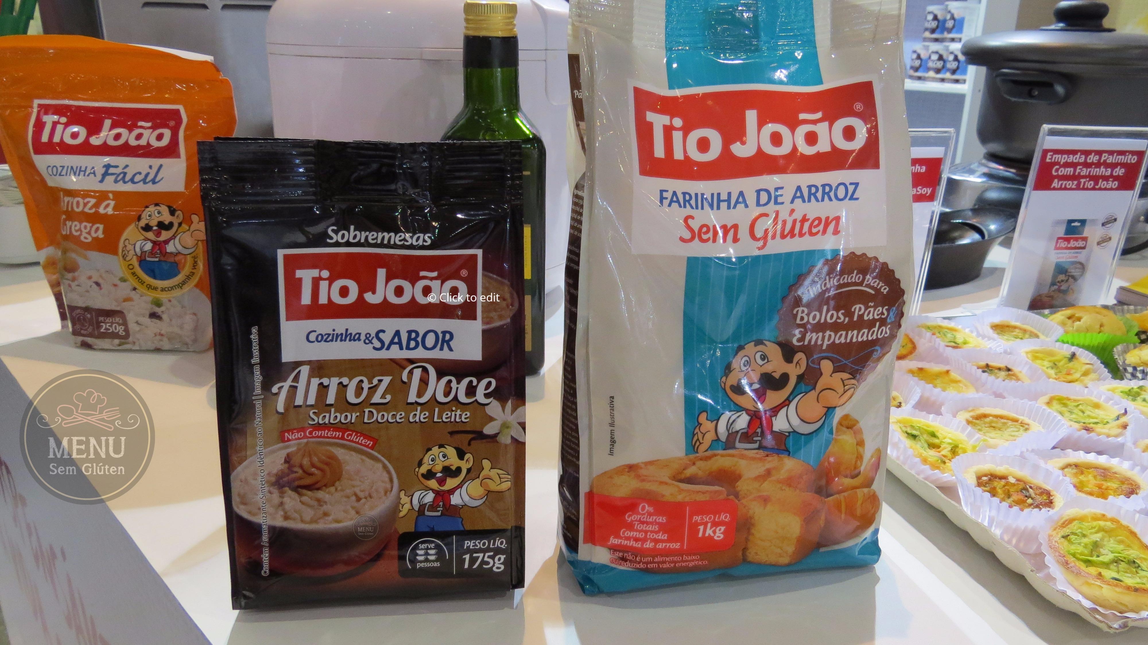farinha de arroz tio joão