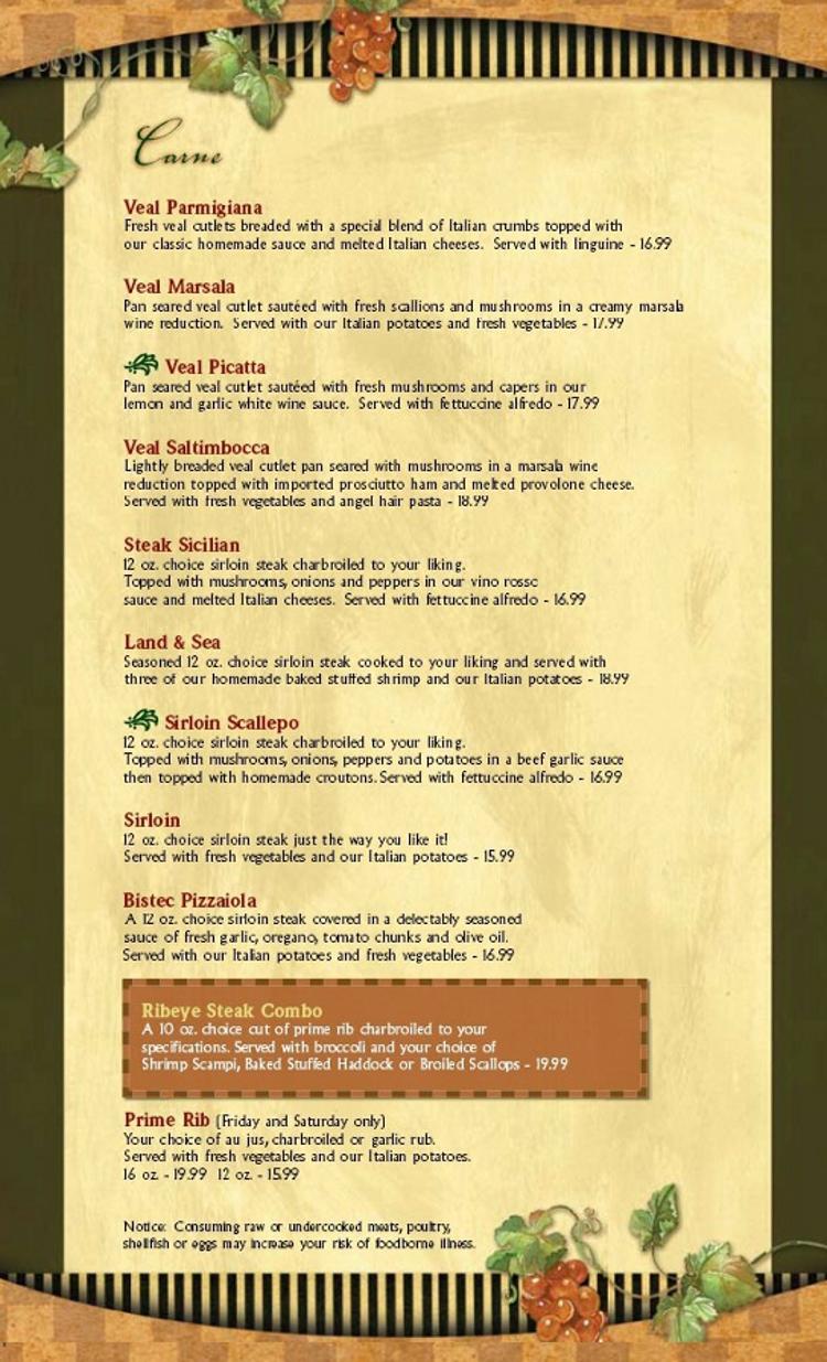 Marcos Restaurant Lewiston Maine Menu - Menusinla - Lewiston & Auburn Maine  Restaurants