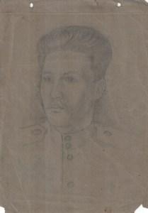 Солдат-рисунок-Юрия-Менякина-1944-год