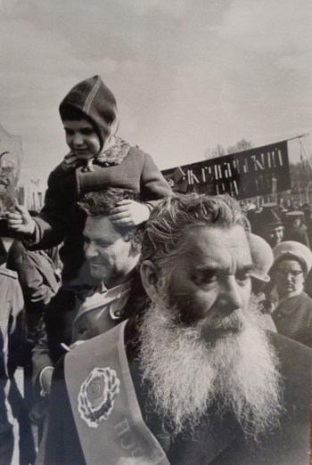Кибальников и Менякин с сыном Иваном