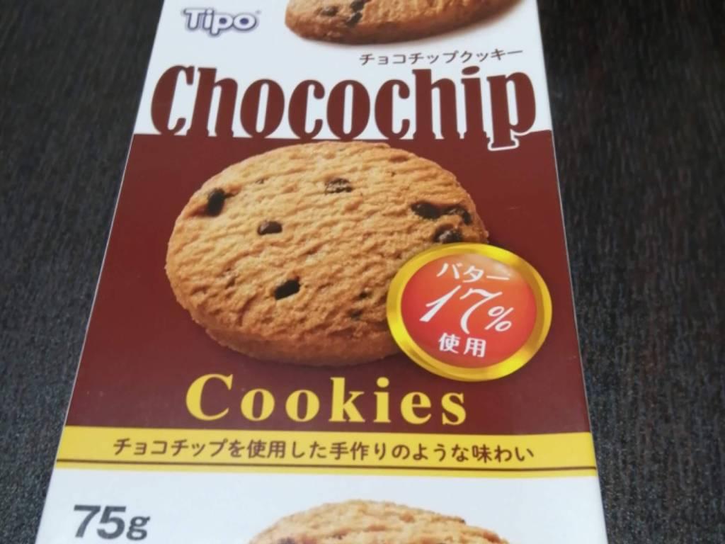 チョコチップクッキーのパッケージ