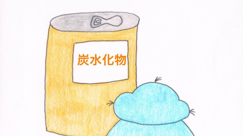 炭水化物の缶