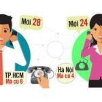 Mã vùng điện thoại cố định mới nhất 63 tỉnh thành phố thành cập nhật 2018