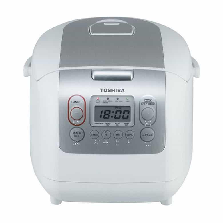 Nồi Cơm Điện Tử Toshiba RC-10NMFVN (WT) (1 Lít)