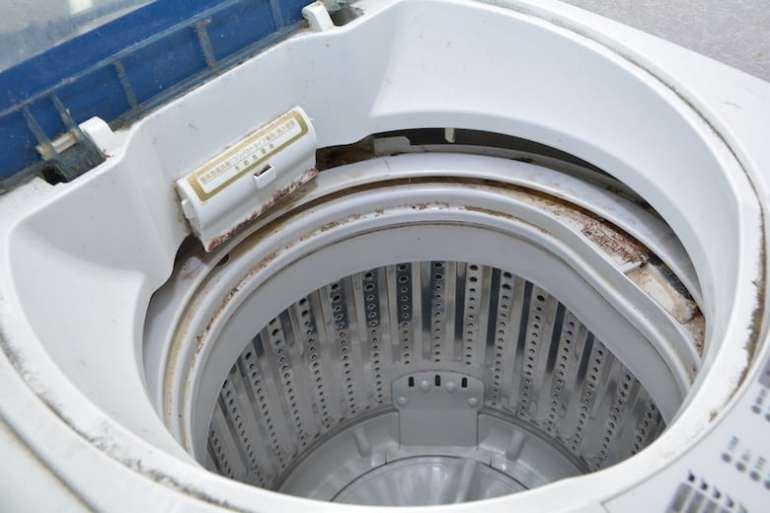 Chú ý khi vệ sinh máy giặt