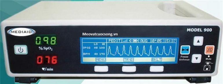 Máy đo chỉ số SpO2 tại BV