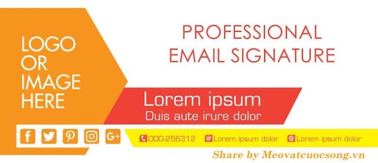 Cách tạo chữ ký Gmail đẹp chuyên nghiệp