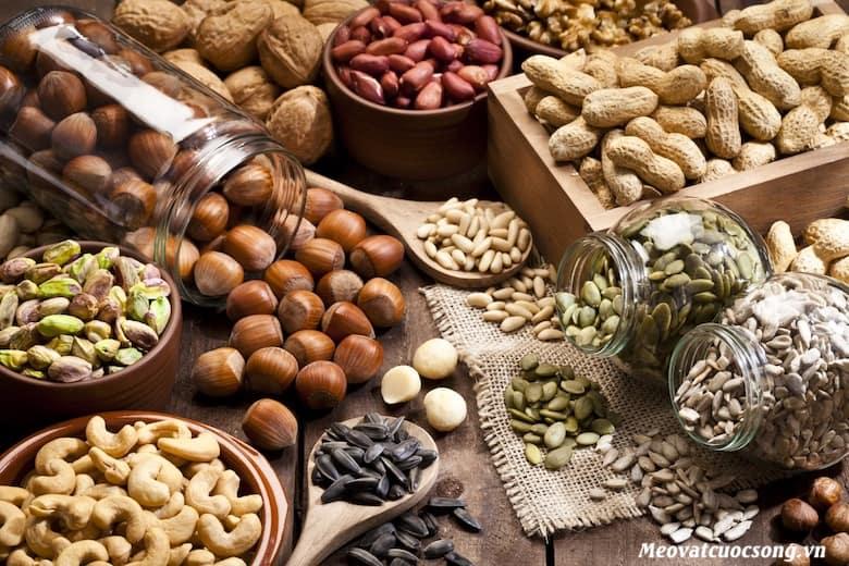 Bị tiêu chảy nên tránh các loại hạt