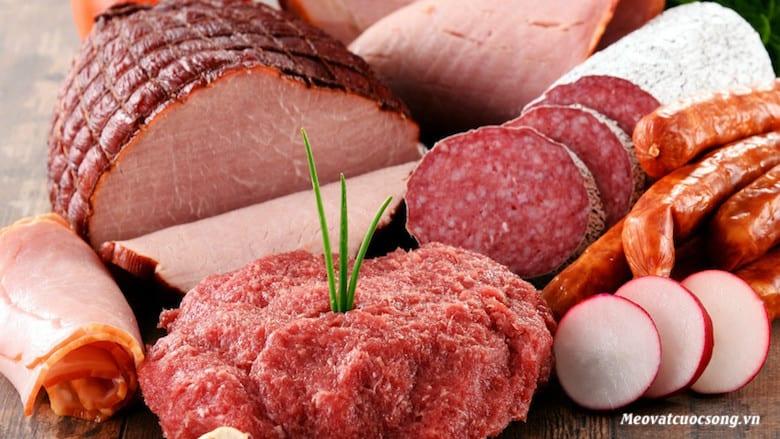 Bị tiêu chảy nên tránh các loại thịt đỏ