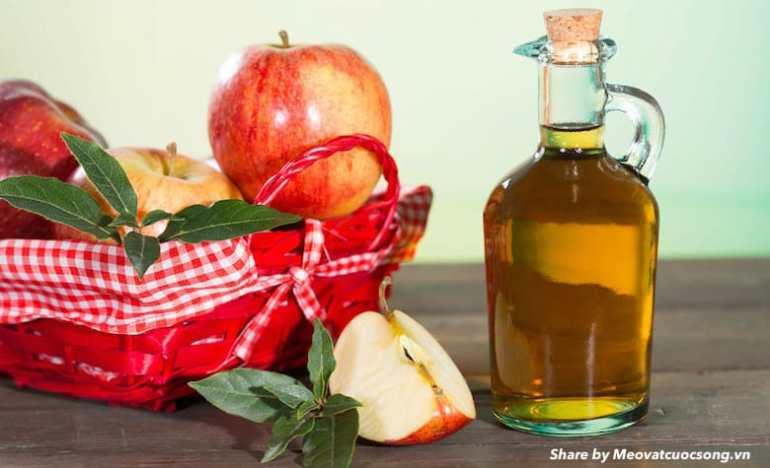 Giấm táo trị chuột rút hiệu quả