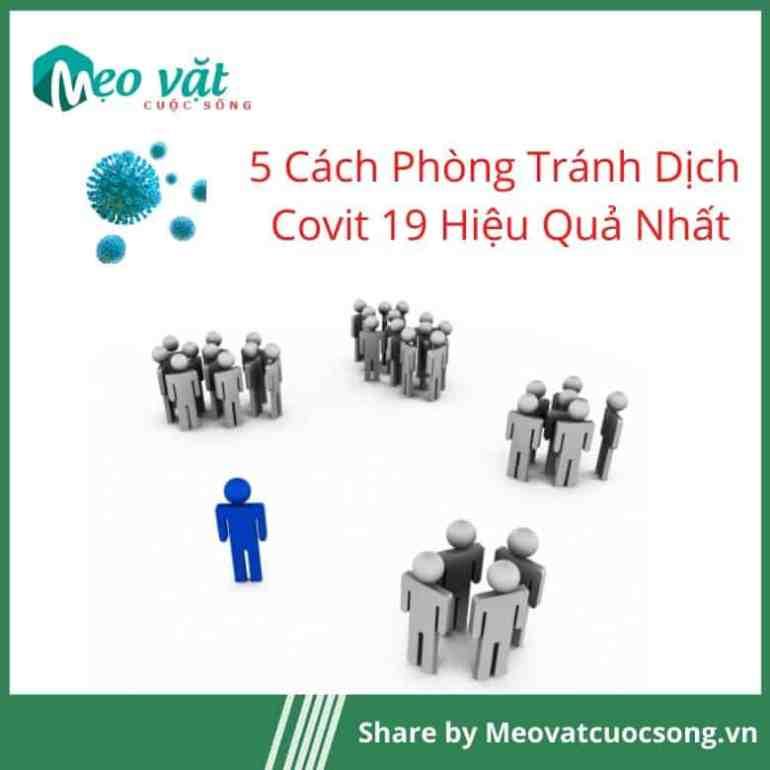 Phòng tránh Covit 19 bằng cách tránh tập trung đông người