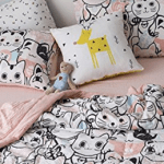 cat comforters college feature