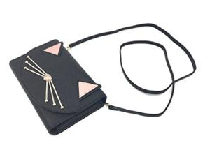black cat purses