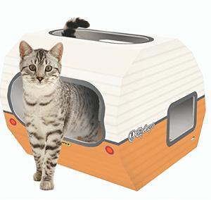 cardboard cat houses