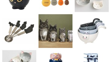 cat measuring cups spoons feature