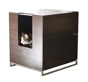 cat hidden litter box cabinet furniture