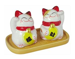 cat salt pepper shakers