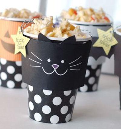cat snacks treats halloween