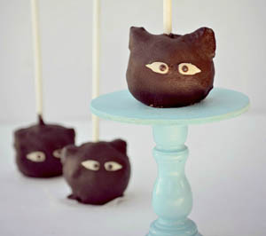 halloween cat cake pop recipe