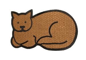 coir cat doormat