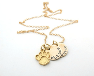handmade personalized cat necklaces