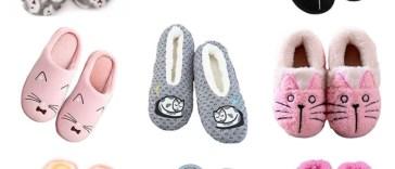 cat slippers women feature