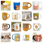 mugs ginger orange cats feature