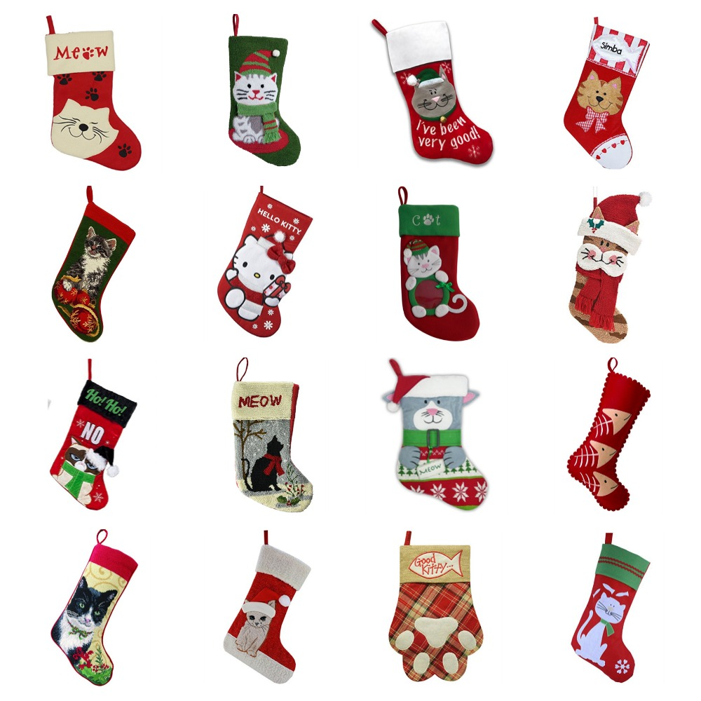 Cat Christmas Stockings For Kitties & The People Who Love Them ...