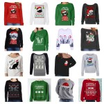 cat christmas sweatshirts women feature