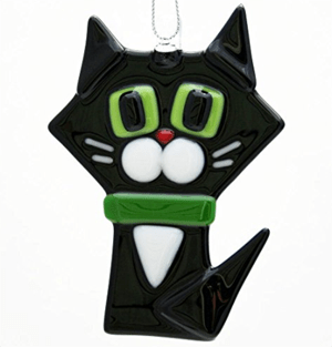 handmade cat ornaments