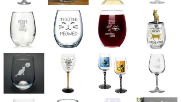 wine glasses cat lovers feature