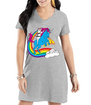 cat nightshirts nightgowns sleepshirts for women