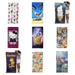 cat beach towels for summer feature