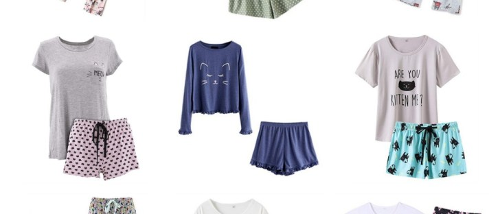 sets of cat pajamas for women who love kitties feature