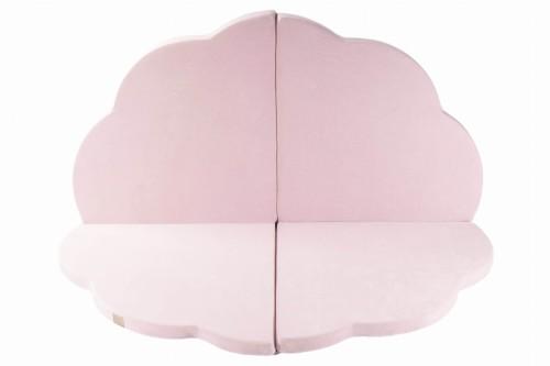 meowbaby 160x160cm tapis de jeu pour enfants nuage rose