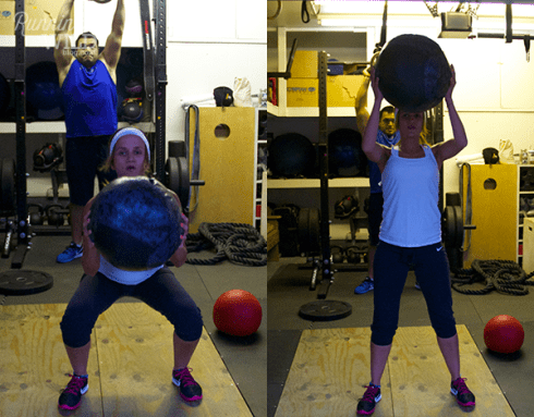 Med ball thrusters